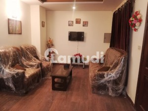 2 Bed Fully Furnished Flat For Rent In E-11 Islamabad