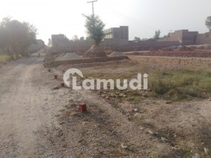 Residential Plot Of 5 Marla On Nasir Bagh Road Is Available