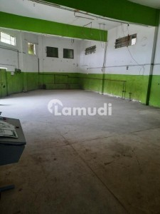 6000  Square Feet Factory In Central Korangi For Rent