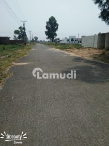 Kanal Plot For Sale In Chinar Bagh Shaheen Block 75 Lac