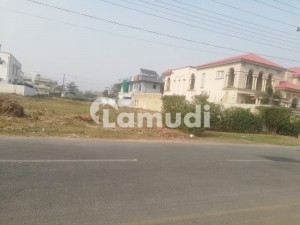 2 Kanal Plot For Sale Facing Play Ground Valencia Society