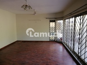Ground And First Floor House Available For Rent In F-10