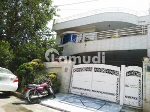10 Marla Double Storey Marble Furnished House For Sale At Ideal Location.