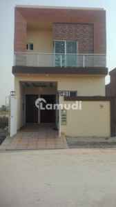 Beautiful 5 Marla Double Story House For Sale In Eden Gardens Lahore