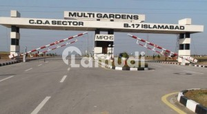 10 Marla Mdr Corner Residential Plot Is Available In Block E Mpchs B-17. Islamabad
