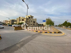 Bahria Enclave Sector A 14 Marla Corner Boulevard Residential Plot Beautiful Location All Paid In Reasonable Demand