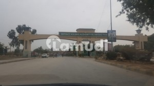 Corner Plot For Sale In Sector D Street  01 Dha Phase 5 Islamabad