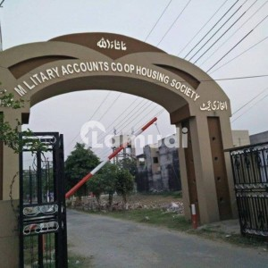 8 Marla Residential Plot For Sale  In Military Accounts College Road Lahore