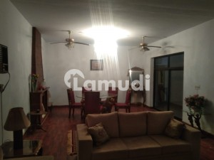 Fully Furnished Ground Portion Is Available For Rent In F8 Islamabad