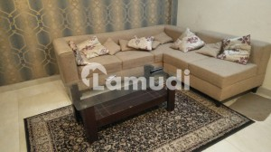 Single Bed Fully Furnished Apartment For Rent In Bahria Town Near Grand Mosque Market Park School