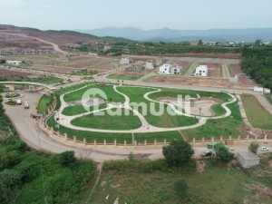 5 Marla Plot Available On Sale On Easy Installments In Park View City