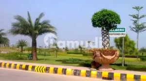 Gulberg Residencia Block V Developed Plot Available For Sale At Hot Location