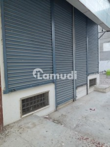 Defence Phase 6 Main Bukhari Shop 750 Ground And 750 Basement Available For Rent