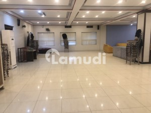 2nd  Floor Hall Available For Rent For Multinational Companies In Adiala Road Near Khuwaja Corporation