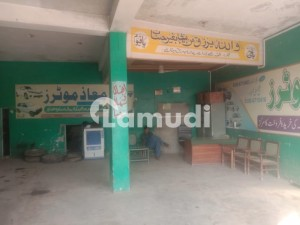 Shop With 2 Bedroom Apartment For Sale  On Main Rahim Yar Khan Road
