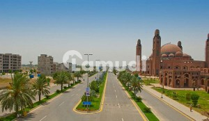 Facing Eiffel Tower 8 Marla Commercial Plot For Sale In Bahria Town Lahore