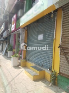 Shop For Rent In Zamzama Commercial With Mezzanine