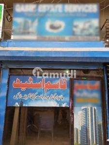 North Nazimabad Block K Shop For Sale Attached Bathroom And Mezzanine Floor