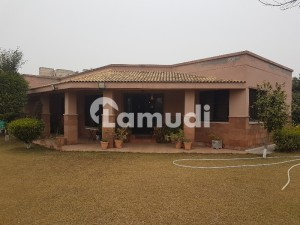 6 Kanal Farm House With 2 Bed Single Stroy House For Sale
