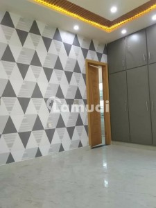 5 Marla Brand New House For Sale In Model City Very Hot Location Having 3 Beds 4 Washrooms Solid Wood Doors Wapda Meter Install