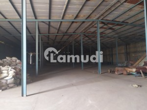 20000 Sq Ft Covered Warehouse Available For Storage At Before By Pass Satiana Road