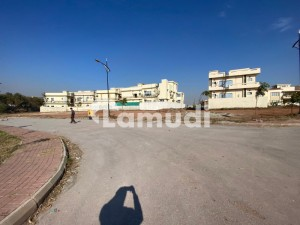 Bahria Enclave Sector A 17 Marla Corner Park Face Plot Available For Sale Prime Location Reasonable Demand