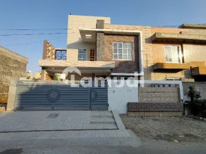 10 Marla Brand New Beautiful Designer House At Hot Location Of Wapda Town D-Block