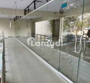 Ground Floor Shop Is Available For Rent In G6