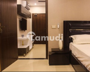 One Bed Fully Furnished Luxury Apartment For Rent On Prime Location Of Bahria Town Lahore