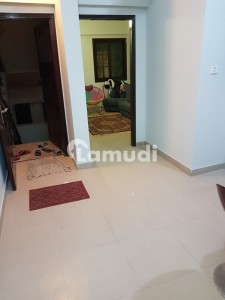 Small Bukhari Commercial Studio Apartment 2 Bed Lounge 450sqft 3rd Floor Tile Flooring Available For Sale