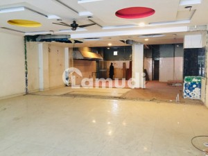 5600 Sq Ft Shop On Most Prime Location Near Mm Alam Road