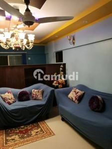 3 bed dd Flat Available For Sale In Safari Heights Gulistan e jauhar