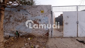 Centrally Located Commercial Plot In Walton Road - Lahore Is Available For Sale
