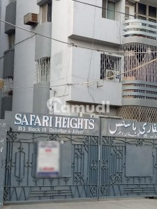 3 Bed Drawing Dinning Flat Available For Rent In Gulistan E Jauhar