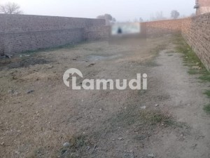 20 Marla Corner Commercial Plot For Sale Near Benazir Women University