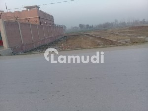 21 Marla Good Location Corner Plot For Sale Near Benazir Women University
