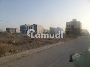 Eminent Locality 2000 Yard Residential Plot Is Up For Sale On 25th Street And Khayaban E Bilal Corner Zone E Phase 8