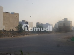 Famed Area 2000 Yard Residential Plot Is Up For Sale On 36th Street And Khayaban E Arafat Corner Zone D Phase 8
