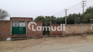 19 Marla Plot 71 Feet Front On 150 Feet Road For Sale In Opf Housing Society Block C