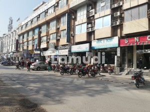 Blue Area Ground floor 480 square feet Excellent location shop for rent