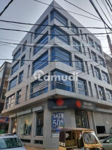 Brand New Shop With Basement At Prime Location For Rent At Badar Commercial