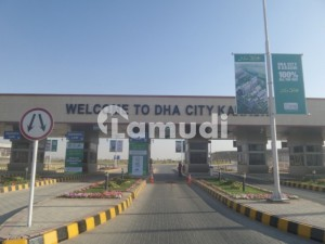 DHA City Karachi Residential Plot Sized 500 Square Yards Is Available