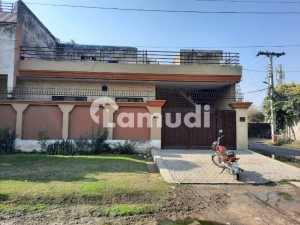 6 Marla Corner Single Storey House Is Available For Rent In Paf Colony Opposite Askari