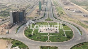 Semi corner plot for sale near jinnah avenue in precinct 26a in bahria town karachi