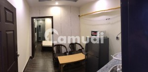 Centrally Located Flat In Johar Town Is Available For Rent