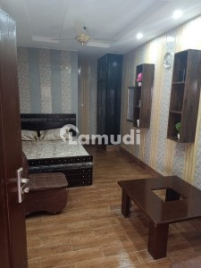 350  Square Feet Spacious Flat Is Available In Johar Town For Rent