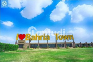 125 Sq Yards Plot Ready For Construction Is Available For Sale In Bahria Town Karachi