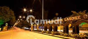 Corner Location 1 Kanal Plot For Sale In Beautifully Developed Babar Block Sector A Bahria Town Lahore