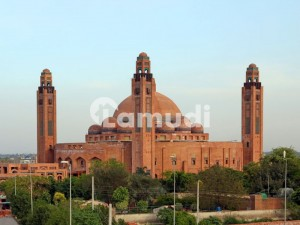 10 Marla Residential Plot For Sale In Babar Block Bahria Town Lahore