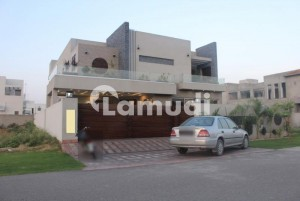 1 Kanal Beautiful Brand New House For Sale In Dha Phase 6 View Out Class